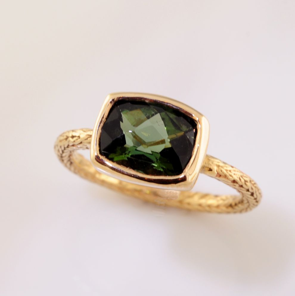 Colored Stone Ring by Just Jules