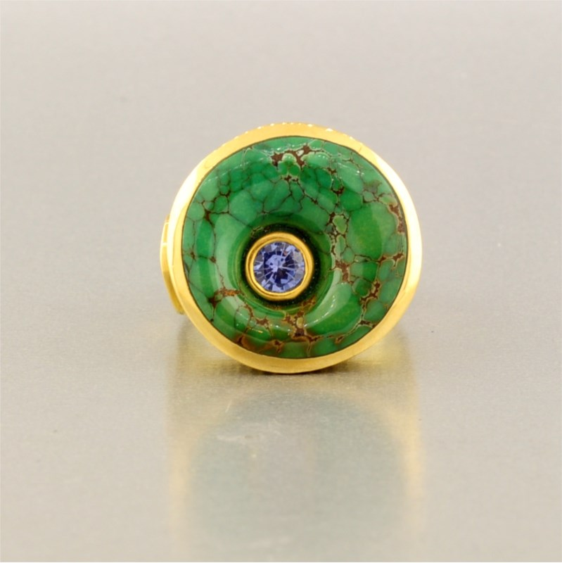 Colored Stone Ring by Jeff and Susan Wise