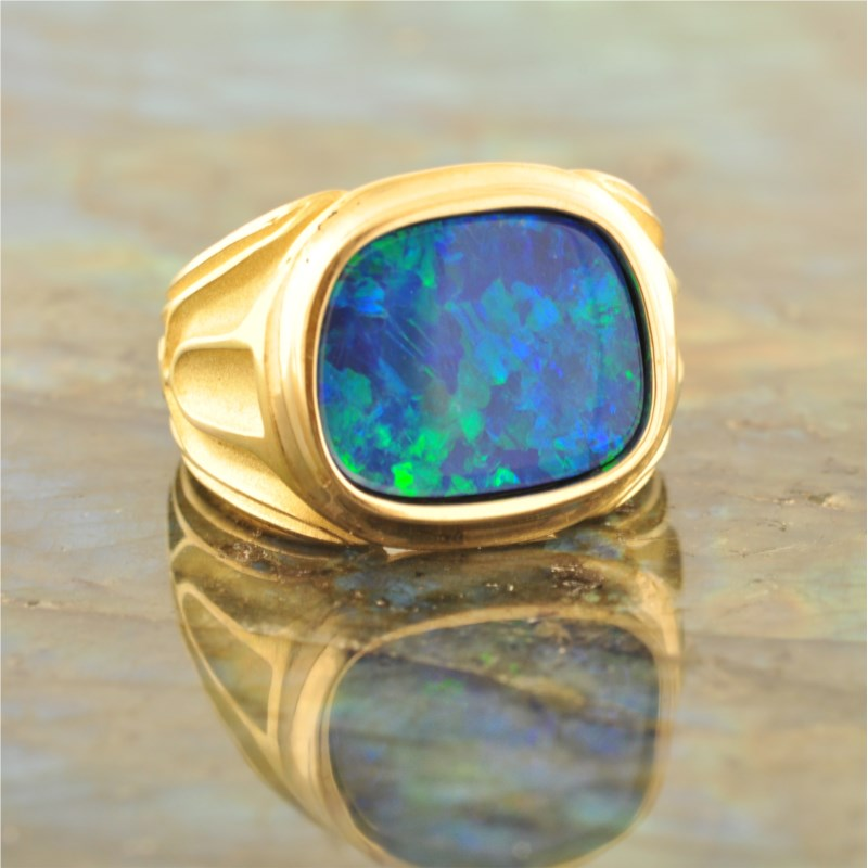 Colored Stone Ring by French Thompson