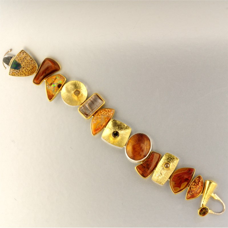Bracelet by Jeff and Susan Wise