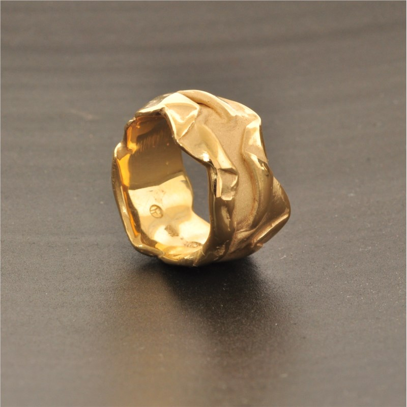 Gold Ring by French Thompson